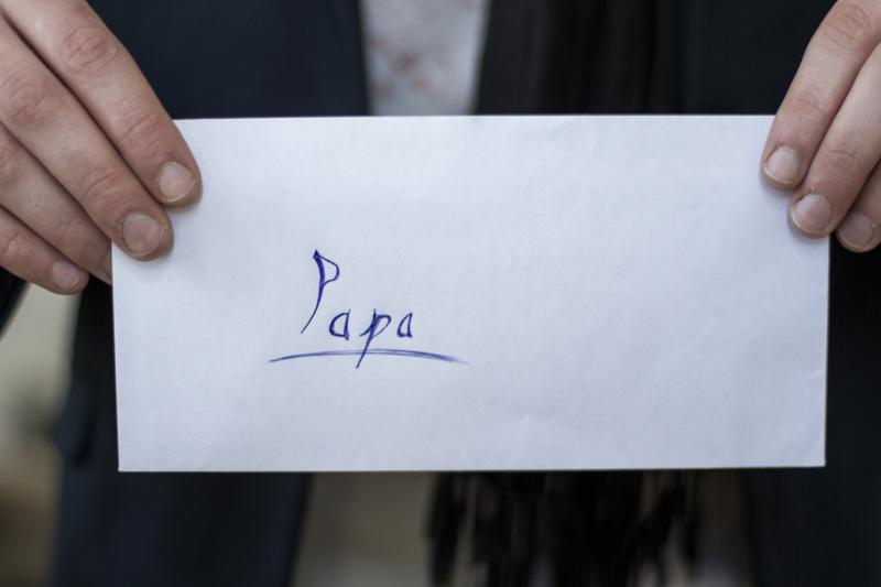 Dejó una carta a su papá que lo hizo estallar en lagrimas, pero al